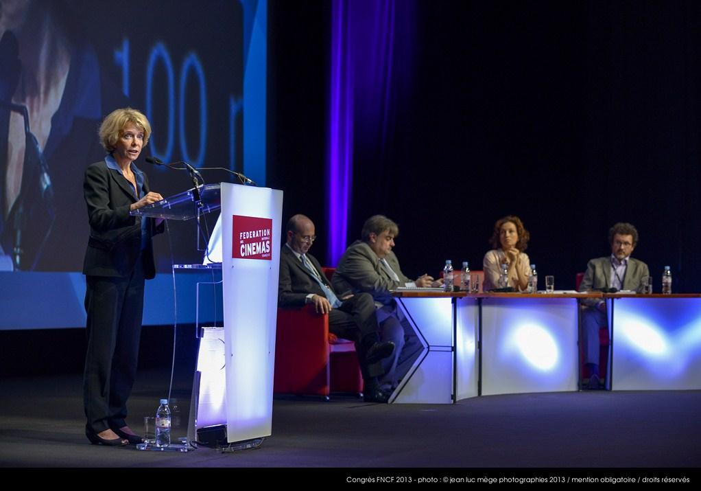 <strong>Frédérique Bredin, Présidente du CNC</strong><br/>
