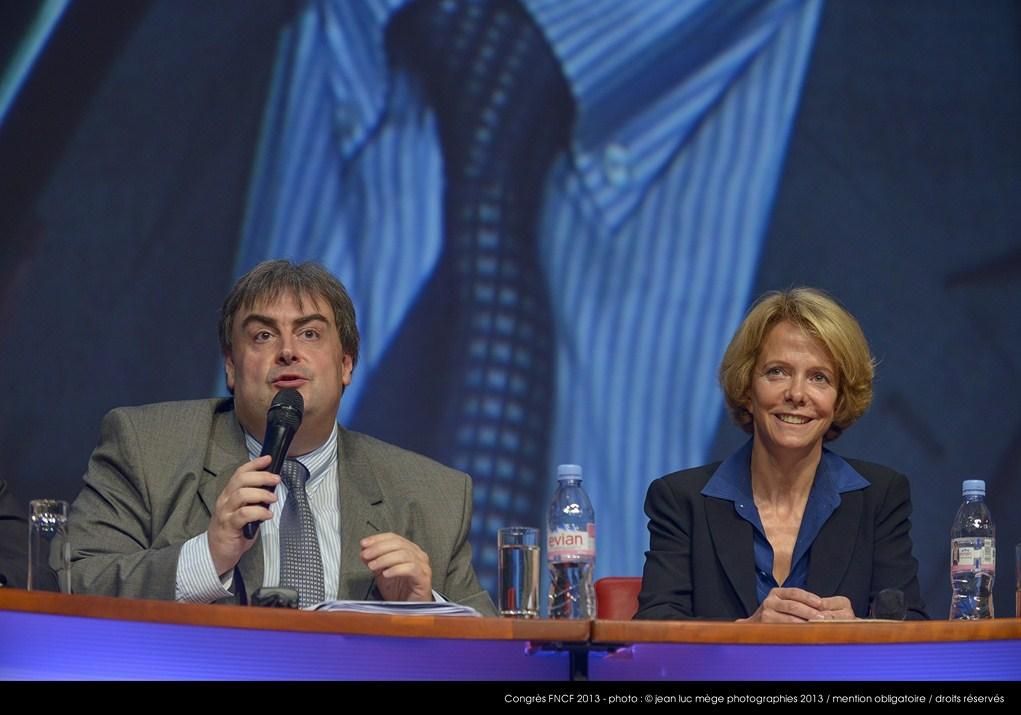 <strong>Richard Patry, Président de la FNCF, et Frédérique Bredin, Présidente du CNC</strong><br/>