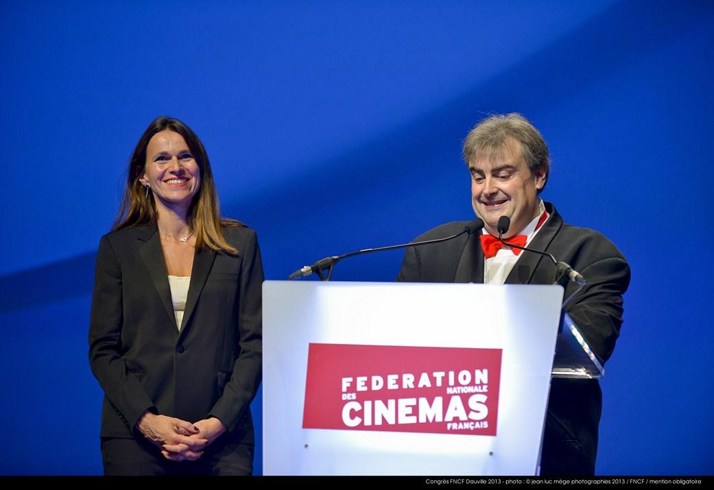 <strong>Aurélie Filippetti, Ministre de la Culture et de la Communication, et Richard Patry, Président de la FNCF</strong><br/>