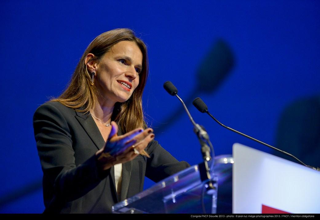<strong>Aurélie Filippetti, Ministre de la Culture et de la Communication</strong><br/>