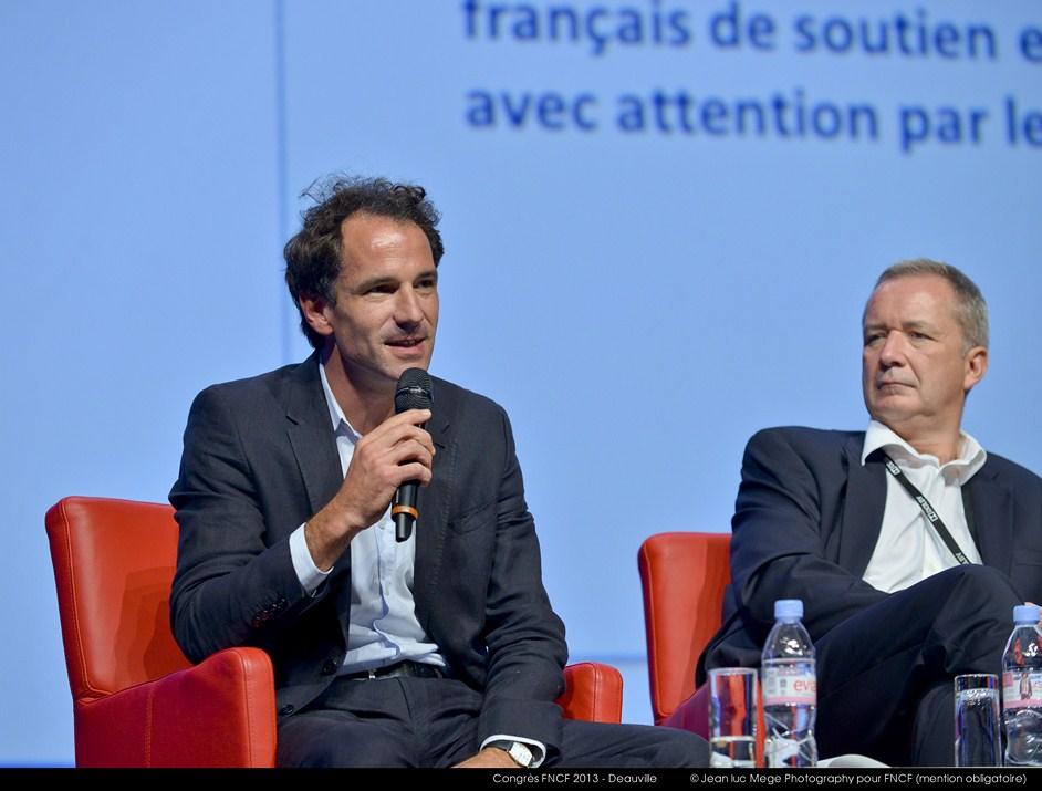<strong>Xavier Lardoux, Directeur général adjoint UniFrance films</strong><br/>
