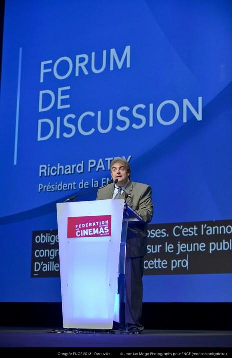 <strong>Richard Patry, Président de la FNCF</strong><br/>