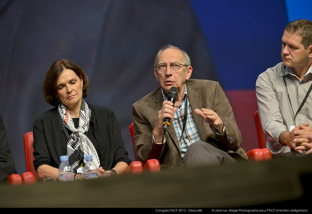 <strong>Odile Tarizzo, Michel Humbert et Youen Bernard, Présidents adjoints de la FNCF</strong>