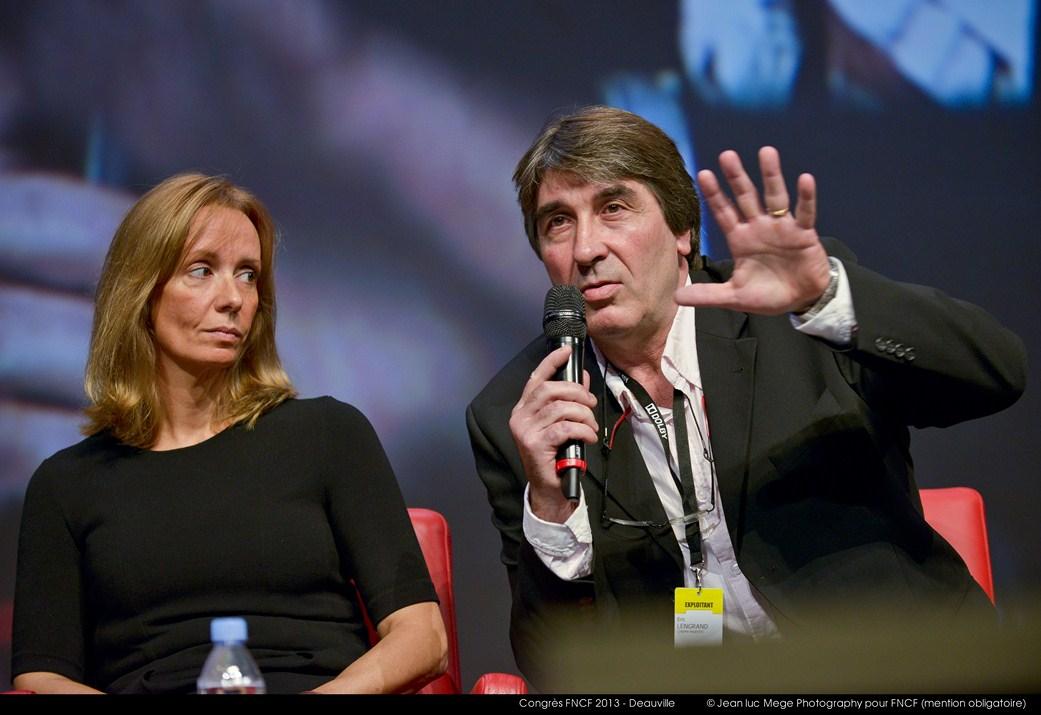 <strong>Marie-Christine Désandré (Secrétaire générale de la FNCF) et Eric Lengrand (Président adjoint de la FNCF)</strong><br/>