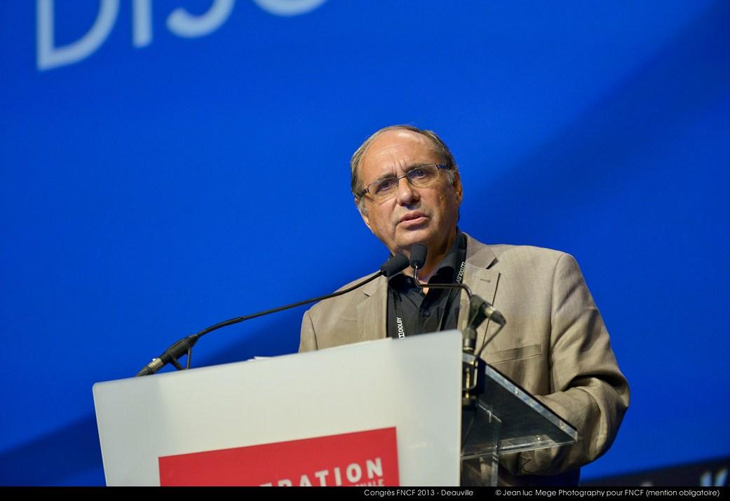 <strong>Bernard Lafon, Président de la Commission Education à l'image</strong><br/>