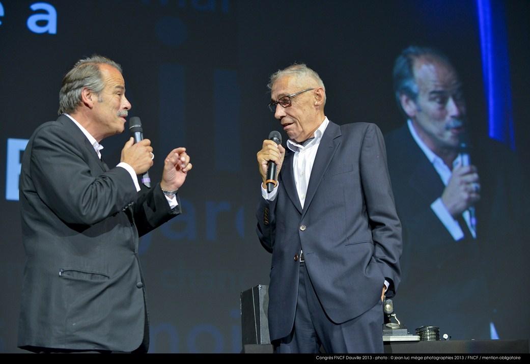 <strong>Jean-Pierre Lavoignat et André Téchiné</strong><br/>