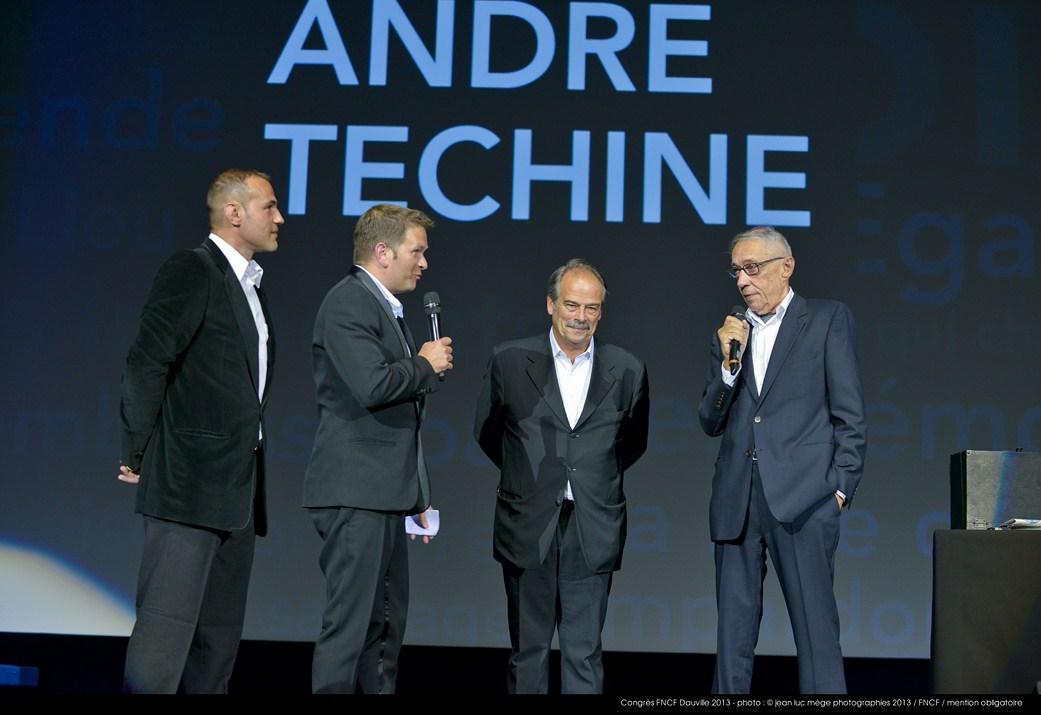 <strong>Stéphane Rideau, Gaël Morel, Jean-Pierre Lavoignat et André Téchiné</strong><br/>