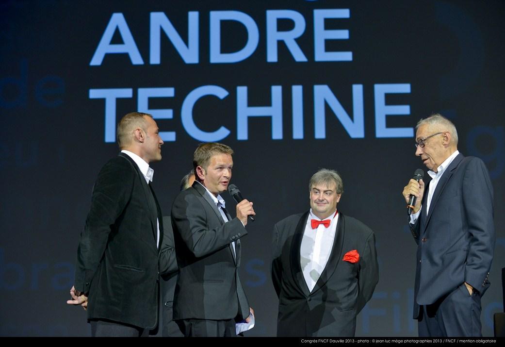 <strong>Stéphane Rideau, Gaël Morel, Richard Patry et André Téchiné</strong><br/>