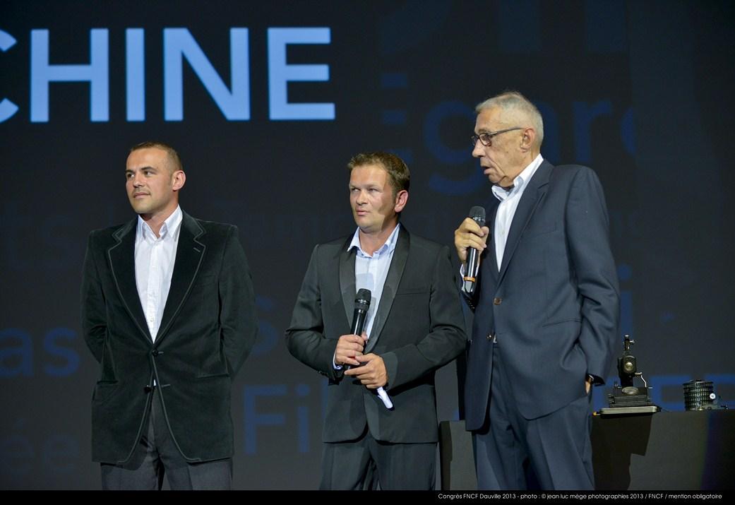 <strong>Stéphane Rideau, Gaël Morel et André Téchiné</strong><br/>