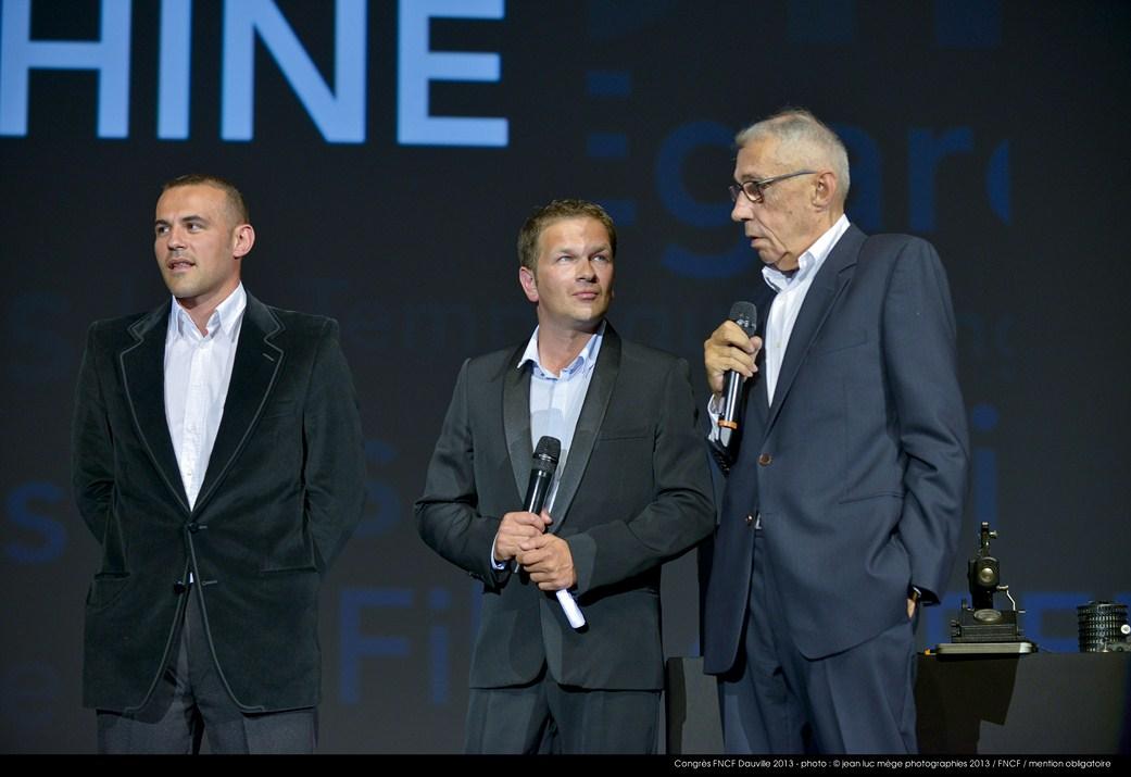 <strong>Stéphane Rideau, Gaël Morel et André Téchiné</strong>