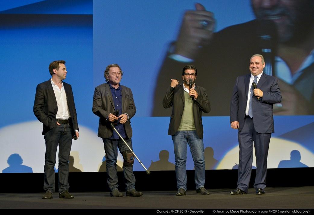 <strong>Guillaume de Tonquedec, Gabriel Julien Laferrière, Alain Attal et Olivier Snanoudj</strong><br/>