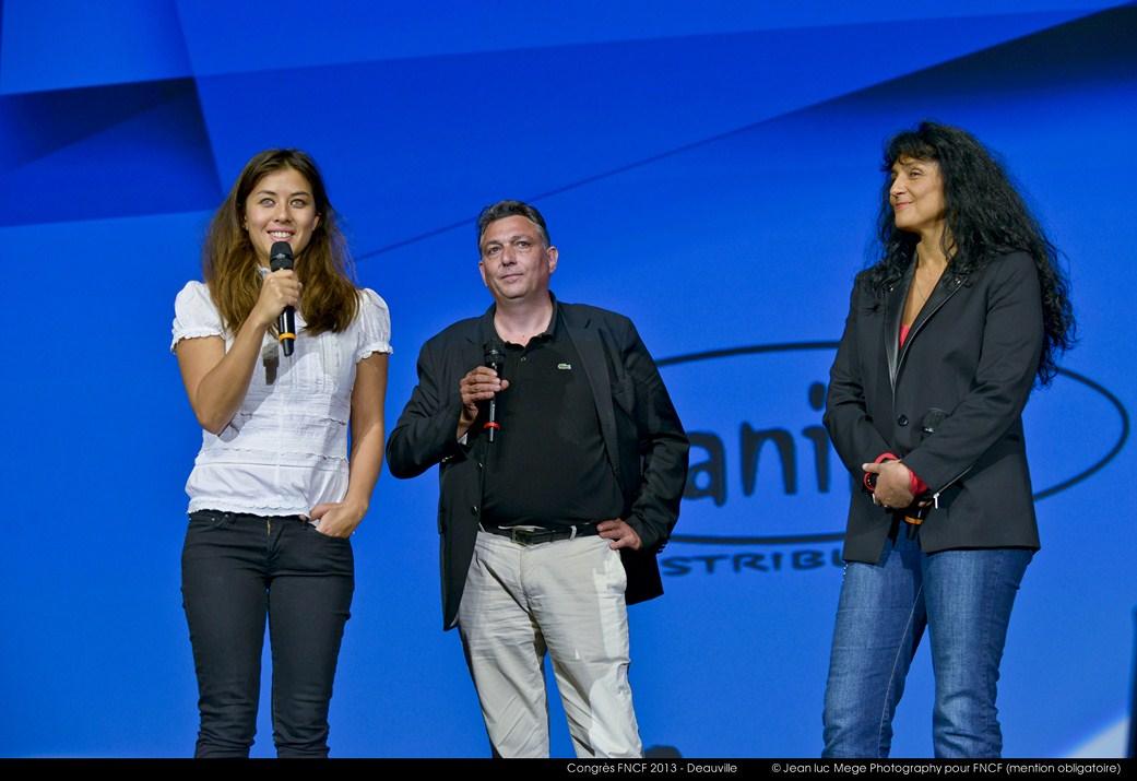 <strong>Mylène Jampanoï, Arnaud Kerneguez et Nathalie Saracco</strong><br/>
